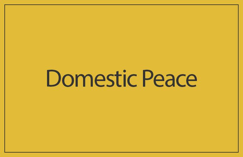 Domestic Peace