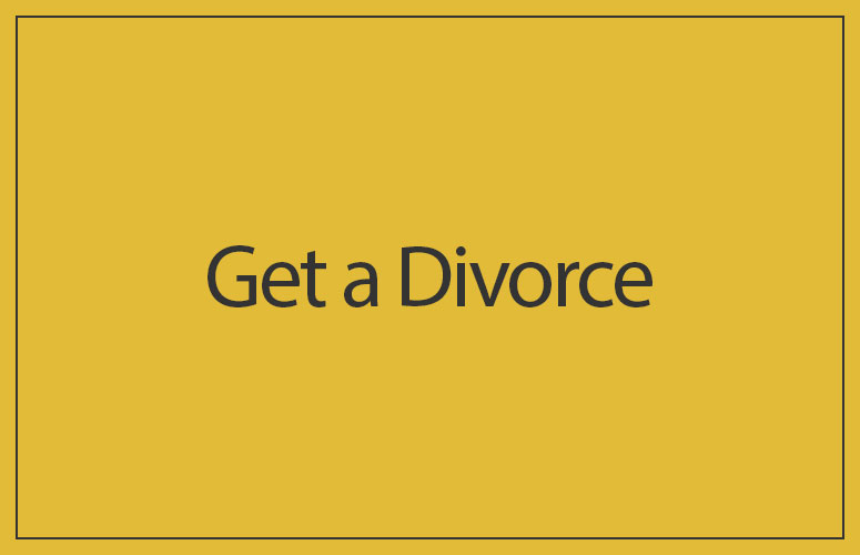 get a divorce