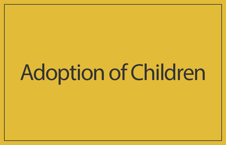 Adoption of Children